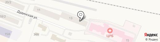 Шарм на карте Дудинки
