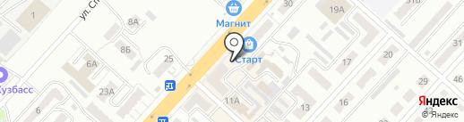 Фарма на карте Ленинска-Кузнецкого