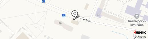 Апельсин на карте Дудинки