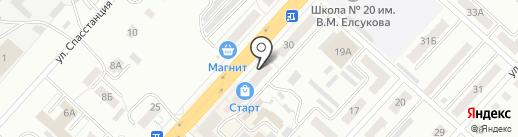 Старт на карте Ленинска-Кузнецкого