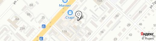 Старт-Спорт на карте Ленинска-Кузнецкого