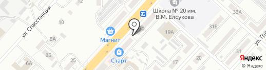 Кузбасспечать на карте Ленинска-Кузнецкого