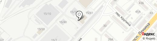 Аристократ на карте Ленинска-Кузнецкого