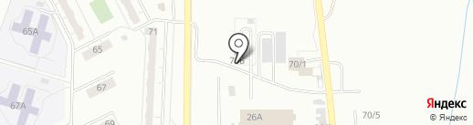АРК-АВТО на карте Кемерово