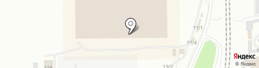 Любимый дом Кузбасс на карте Ленинска-Кузнецкого