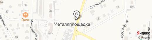 Автокомплекс на карте Металлплощадки