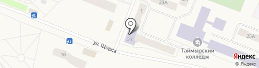 Дудинская централизованная библиотечная система на карте Дудинки