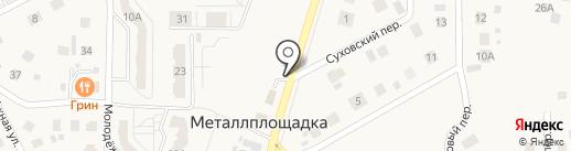 Автоцех на карте Металлплощадки