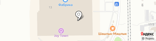 L`avenir на карте Ленинска-Кузнецкого
