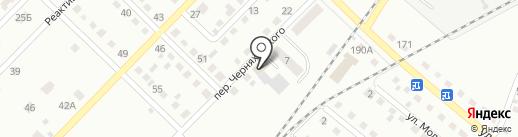 Беркат на карте Ленинска-Кузнецкого