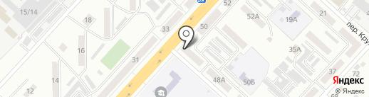 Сушимания на карте Ленинска-Кузнецкого