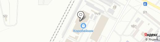 Оптово-розничная компания на карте Ленинска-Кузнецкого