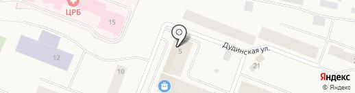 Исмаил на карте Дудинки