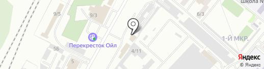 Автомаркет42 на карте Ленинска-Кузнецкого