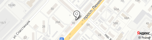 Pegas Touristik на карте Ленинска-Кузнецкого