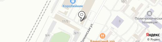 СибирьТонарСервис на карте Ленинска-Кузнецкого