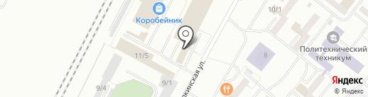 Танцевальная мода на карте Ленинска-Кузнецкого
