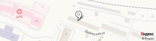 Почтовое отделение №5 на карте Дудинки