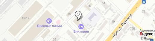 Банк горящих туров на карте Ленинска-Кузнецкого
