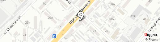 Золотая чешуя на карте Ленинска-Кузнецкого