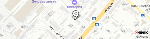 Юрист+ на карте Ленинска-Кузнецкого
