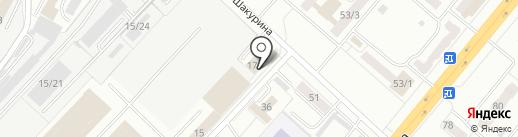 Японамама на карте Ленинска-Кузнецкого