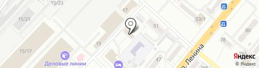 Межрайонный отдел судебных приставов по г. Ленинск-Кузнецкому на карте Ленинска-Кузнецкого