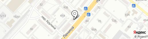 Фотосалон на карте Ленинска-Кузнецкого