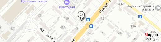 Двиг на карте Ленинска-Кузнецкого