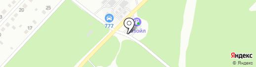 ЛЕНГАЗ на карте Ленинска-Кузнецкого