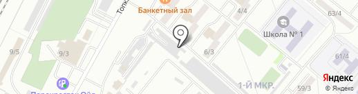 Центр заправки картриджей на карте Ленинска-Кузнецкого