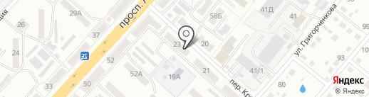 Проект на карте Ленинска-Кузнецкого