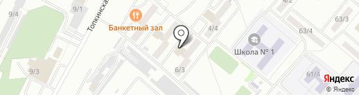 Ленинск-Кузнецкий таможенный пост на карте Ленинска-Кузнецкого