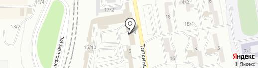 Автолавка на карте Ленинска-Кузнецкого