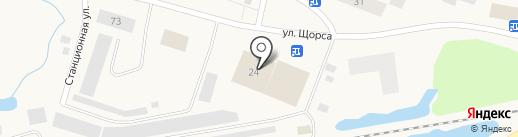 Ключ на карте Дудинки