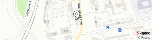 Луна на карте Ленинска-Кузнецкого