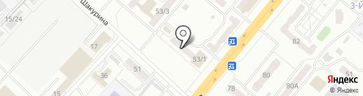 Ярче на карте Ленинска-Кузнецкого