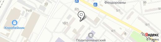 Дворик на карте Ленинска-Кузнецкого