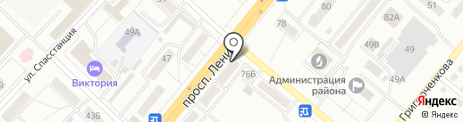 Солидарность, КПК на карте Ленинска-Кузнецкого