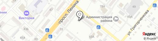 Охрана МВД России, ФГУП на карте Ленинска-Кузнецкого