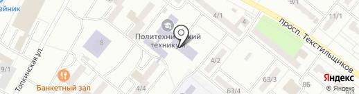 КемТИПП на карте Ленинска-Кузнецкого