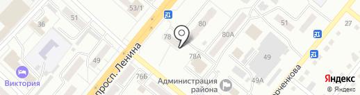 Недвижимость на карте Ленинска-Кузнецкого