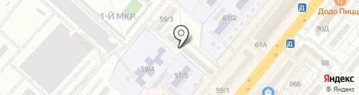 СОВА на карте Ленинска-Кузнецкого