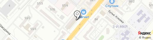 АДК на карте Ленинска-Кузнецкого