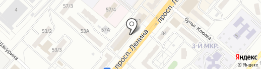 Зазеркалье на карте Ленинска-Кузнецкого