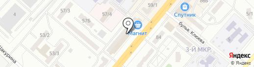 Детская одежда для мальчиков и девочек на карте Ленинска-Кузнецкого