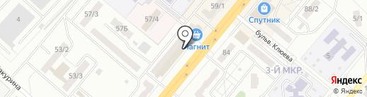 Мебельная компания на карте Ленинска-Кузнецкого