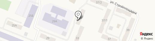 Магазин электроинструментов и автозапчастей на ул. Щорса на карте Дудинки