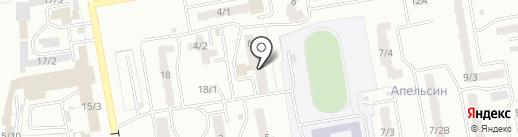 Жасмин на карте Ленинска-Кузнецкого