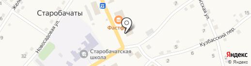 Магазин товаров для дома на карте Старобачатов